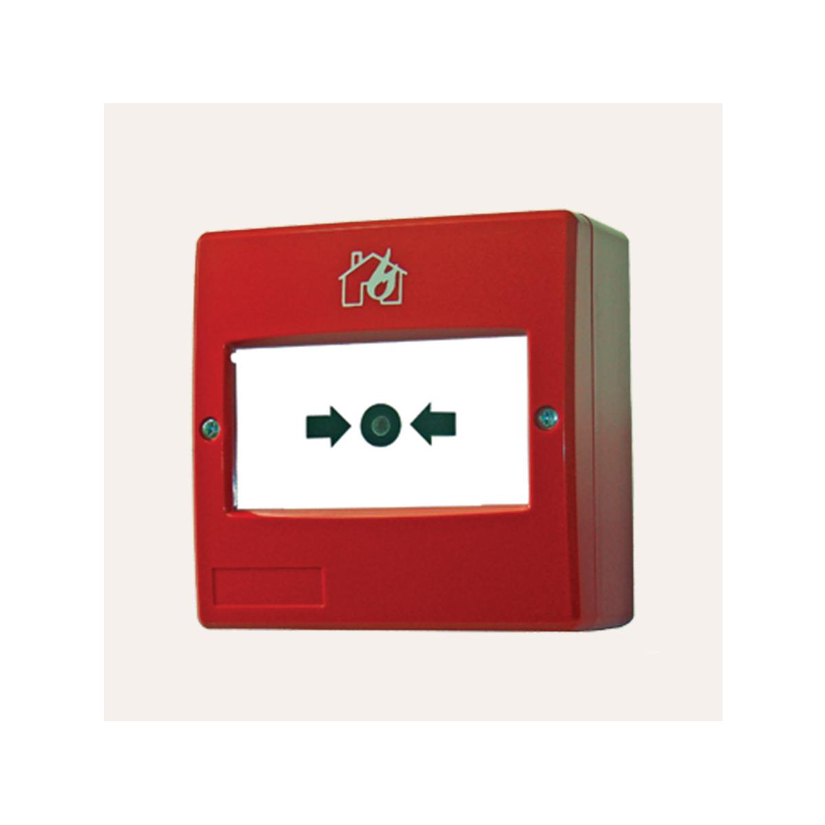 Επανατάξιμο υαλόθραυστο κόκκινο μπουτον PM20-R Image